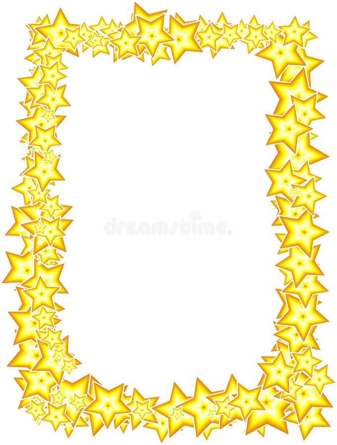 Πλαίσιο αστεριών ελεύθερη απεικόνιση δικαιώματος