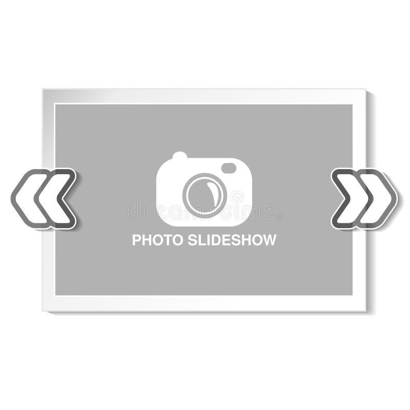 Πλαίσιο για τον ιστοχώρο slideshow, την παρουσίαση ή τις σειρές προβαλλόμενων εικόνων, τις φωτογραφικές φωτογραφικές διαφάνειες ή απεικόνιση αποθεμάτων