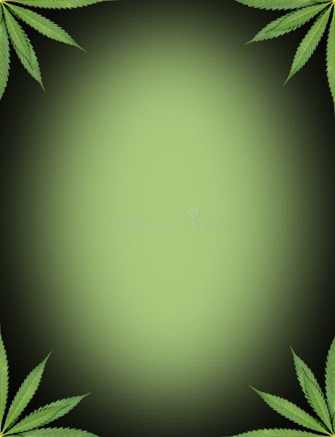 Πλαίσιο μαριχουάνα διανυσματική απεικόνιση