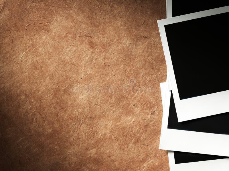 Πλαίσιο φωτογραφιών ύφους Polaroid στοκ εικόνες με δικαίωμα ελεύθερης χρήσης