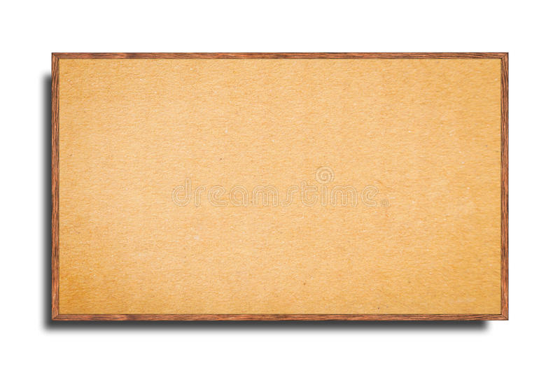 Πλαισιωμένος πίνακας δελτίων στοκ εικόνες με δικαίωμα ελεύθερης χρήσης