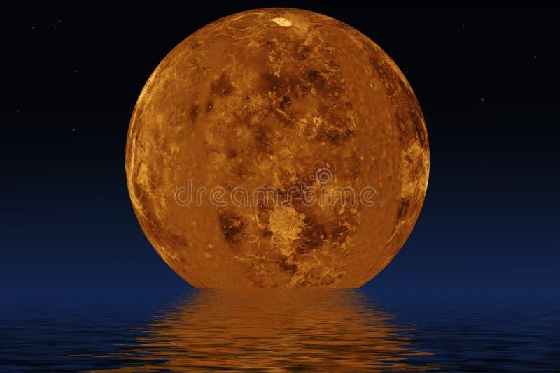Πλανήτης Αφροδίτη διανυσματική απεικόνιση