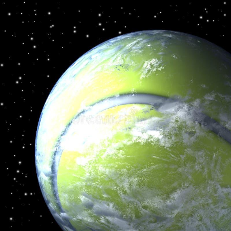 Πλανήτης Γη ως σφαίρα αντισφαίρισης, προσεκτικότερη ματιά ελεύθερη απεικόνιση δικαιώματος