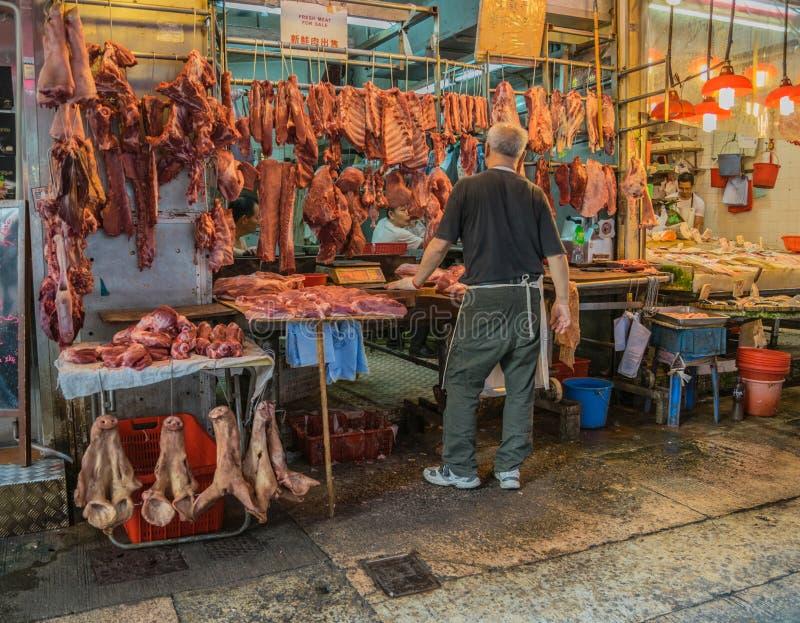 Download Πλανόδιοι πωλητές στο Χονγκ Κονγκ Εκδοτική Στοκ Εικόνα - εικόνα από επιχείρηση, σημάδι: 62714749