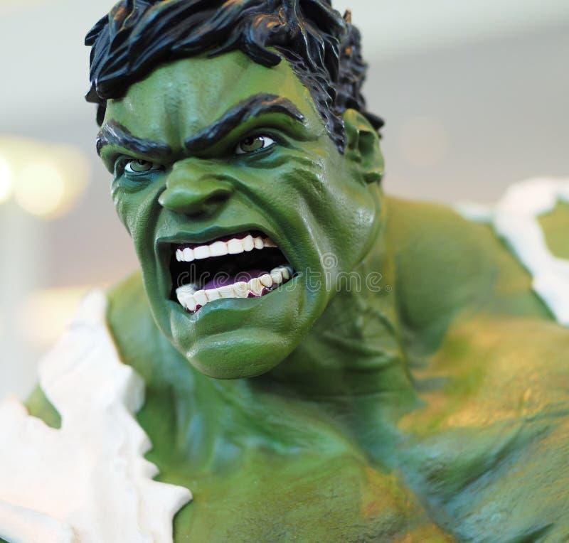Πλασματικό Hulk superhero χαρακτήρα στοκ εικόνες με δικαίωμα ελεύθερης χρήσης