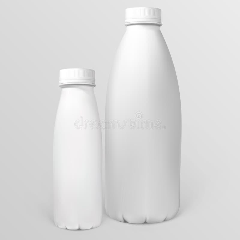 Πλαστικά μπουκάλια διανυσματική απεικόνιση