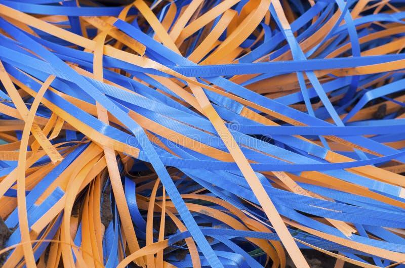 Πλαστικά λουριά στοκ φωτογραφία με δικαίωμα ελεύθερης χρήσης