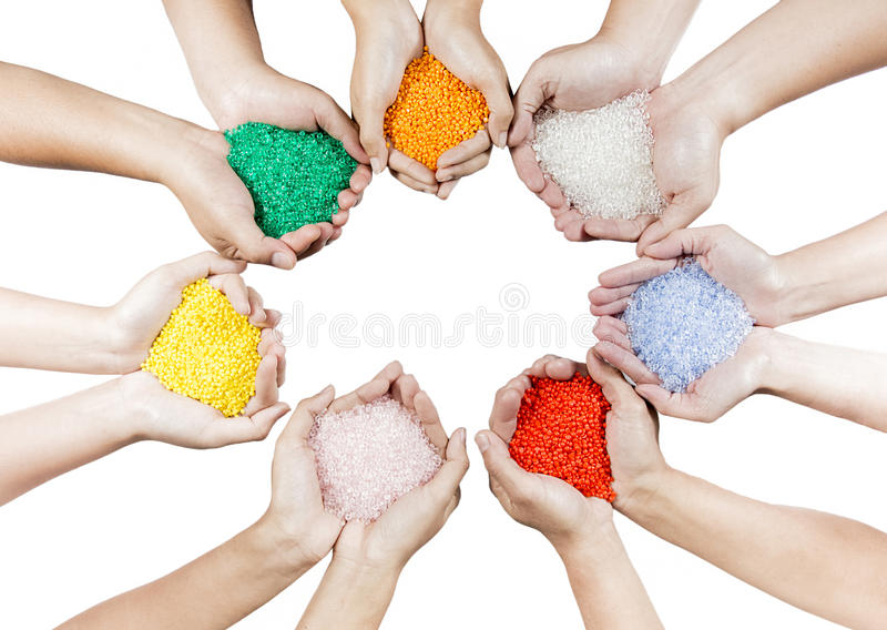 Πλαστικές χάντρες στοκ φωτογραφία με δικαίωμα ελεύθερης χρήσης