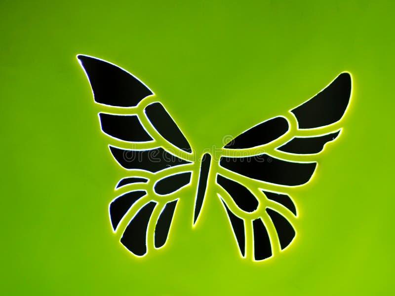 Πλαστική πεταλούδα στοκ φωτογραφία με δικαίωμα ελεύθερης χρήσης