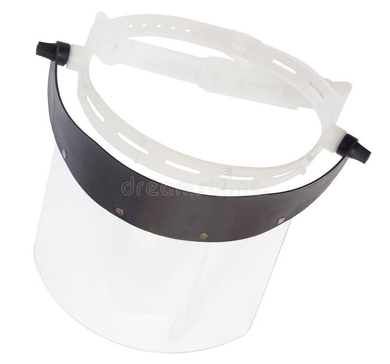 Πλαστική προστατευτική ασπίδα προσώπου στοκ φωτογραφία