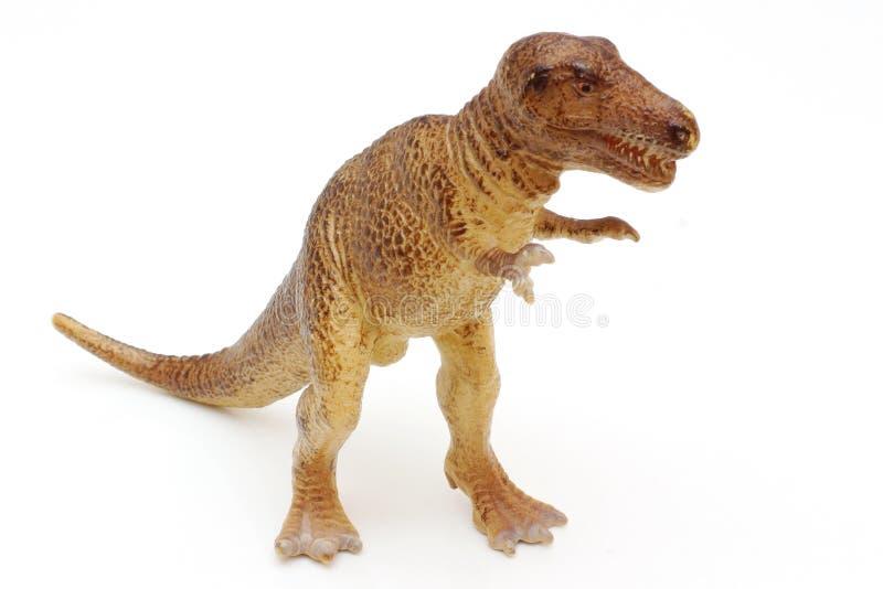 Πλαστικός δεινόσαυρος στοκ εικόνα