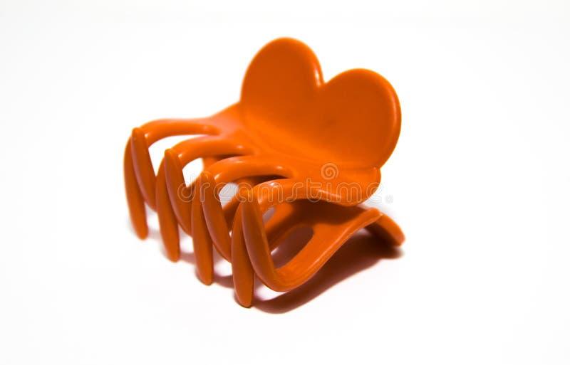 Πλαστικός συνδετήρας ζωνών ή τρίχας στοκ εικόνα