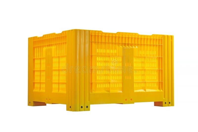 Πλαστικό εμπορευματοκιβώτιο παλετών στοκ φωτογραφία με δικαίωμα ελεύθερης χρήσης