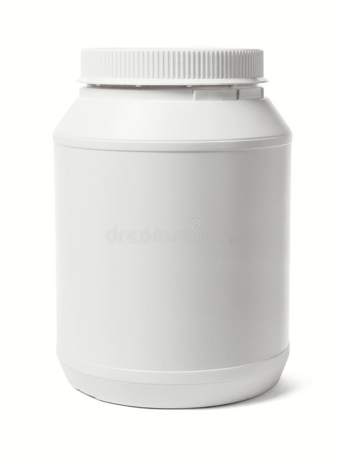 πλαστικό λευκό εμπορευ στοκ εικόνες