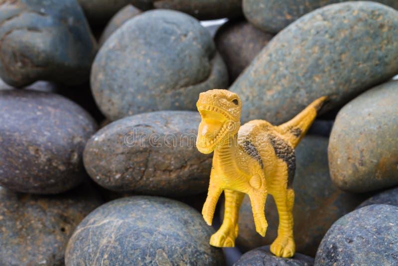 Πλαστικό παιχνίδι δεινοσαύρων στοκ φωτογραφίες