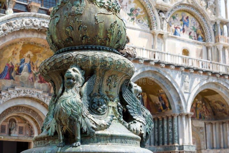 Πλατεία Αγίου Mark ` s στη Βενετία στοκ φωτογραφία με δικαίωμα ελεύθερης χρήσης