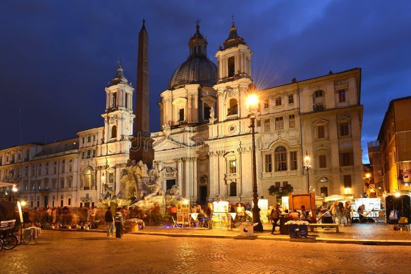 πλατεία Ρώμη navona στοκ φωτογραφίες