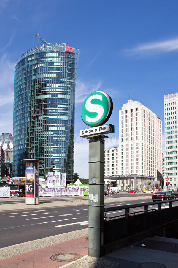 Πλατεία της Γερμανίας, Βερολίνο, Πότσνταμ στοκ εικόνα με δικαίωμα ελεύθερης χρήσης