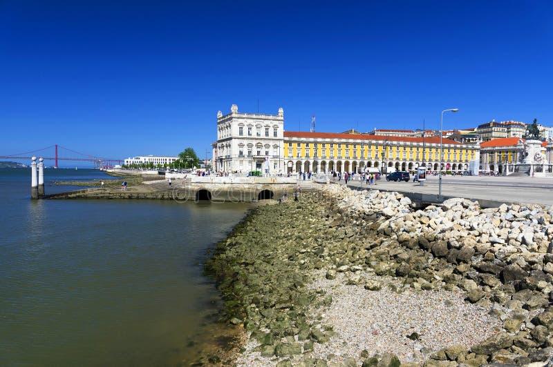 πλατεία της Λισσαβώνας &epsilo στοκ φωτογραφία με δικαίωμα ελεύθερης χρήσης