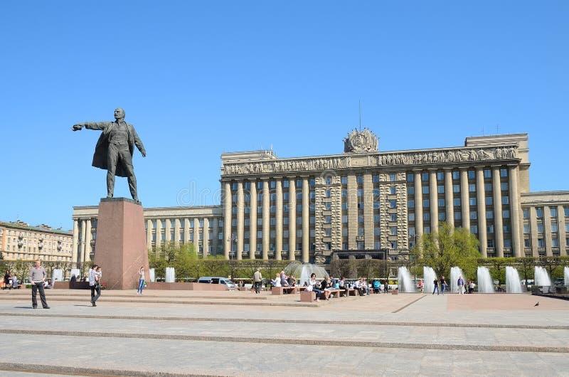 Πλατεία της Μόσχας στην Πετρούπολη, Ρωσία. στοκ φωτογραφία
