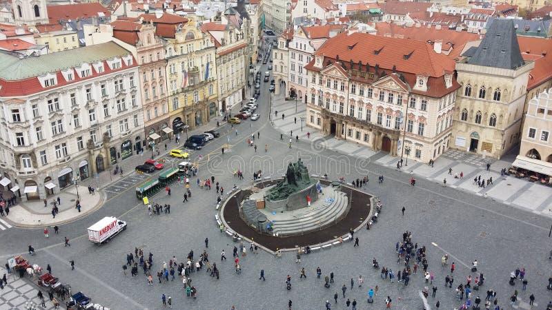 Πλατεία της Πράγας στοκ εικόνες με δικαίωμα ελεύθερης χρήσης