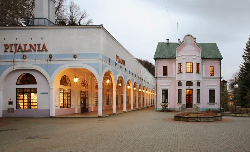 Πλατεία του Jozef Dietl σε iwonicz-Zdroj Πολωνία στοκ φωτογραφίες με δικαίωμα ελεύθερης χρήσης