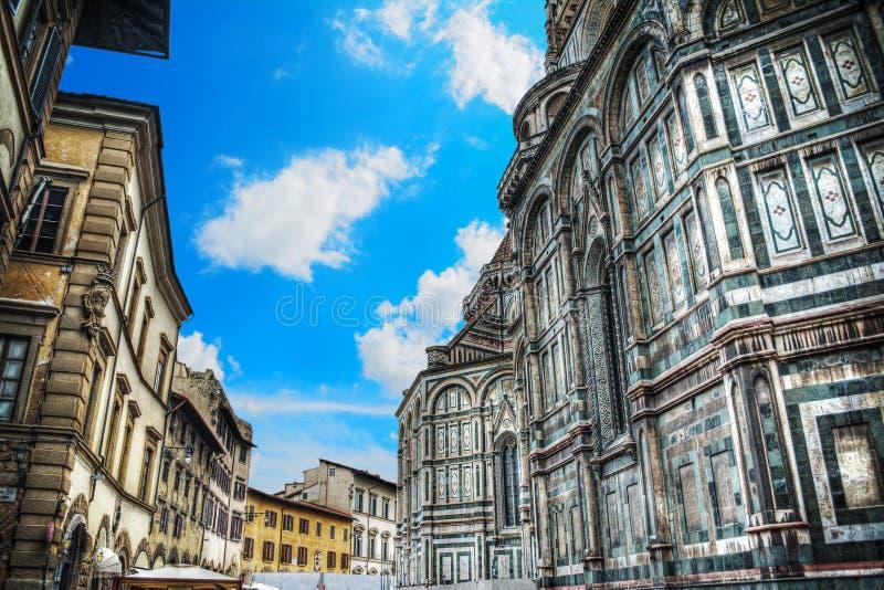 Πλατεία Duomo στη Φλωρεντία στοκ εικόνες