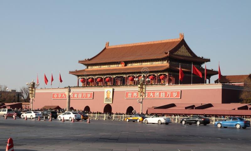 Πλατεία Tiananmen του Πεκίνου στοκ εικόνα με δικαίωμα ελεύθερης χρήσης