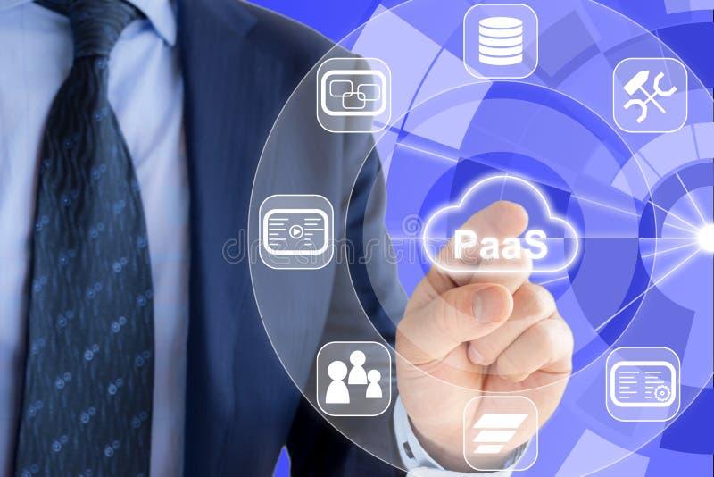 Πλατφόρμα ως εμπειρογνώμονα υπηρεσιών στοκ εικόνα με δικαίωμα ελεύθερης χρήσης