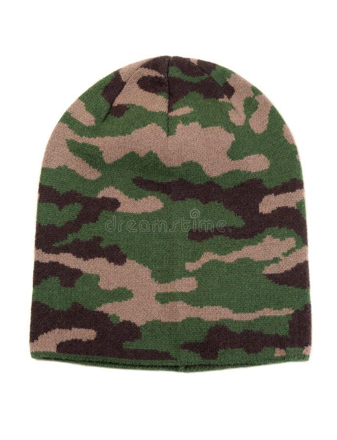 Πλεκτή ΚΑΠ στρατιωτική στοκ φωτογραφία με δικαίωμα ελεύθερης χρήσης