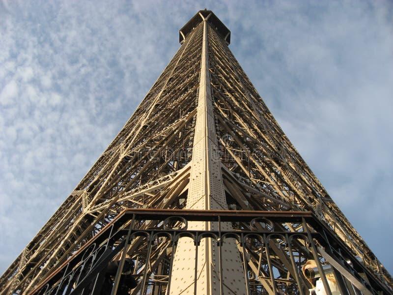 Πλευρά του πύργου του Άιφελ στοκ εικόνα με δικαίωμα ελεύθερης χρήσης