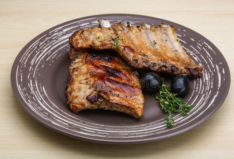 πλευρά χοιρινού κρέατος π στοκ φωτογραφία με δικαίωμα ελεύθερης χρήσης
