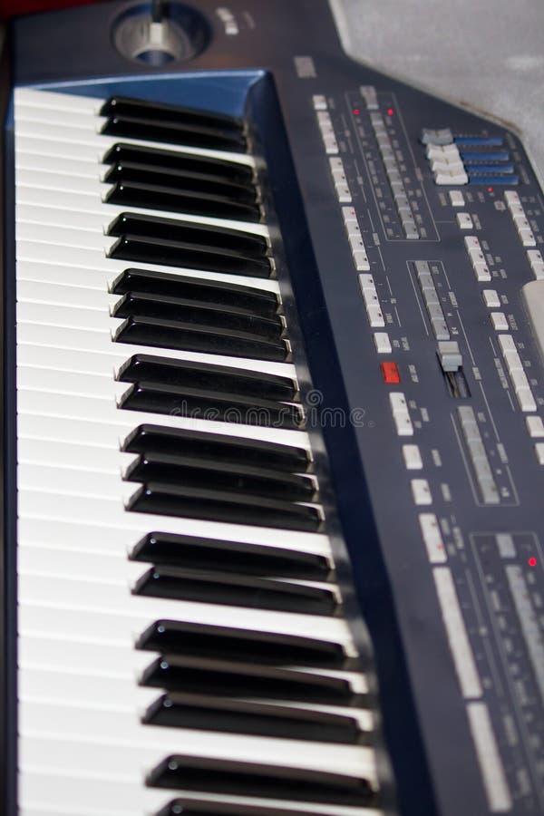 Πληκτρολόγιο πιάνων στοκ εικόνες