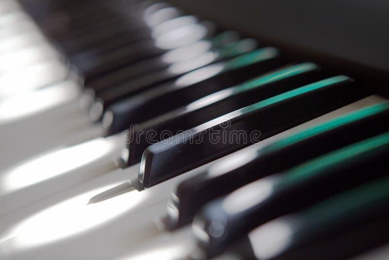 Πληκτρολόγιο πιάνων στοκ φωτογραφία