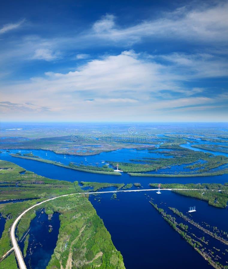 Πλημμυρισμένες δασικές πεδιάδες στοκ φωτογραφία με δικαίωμα ελεύθερης χρήσης