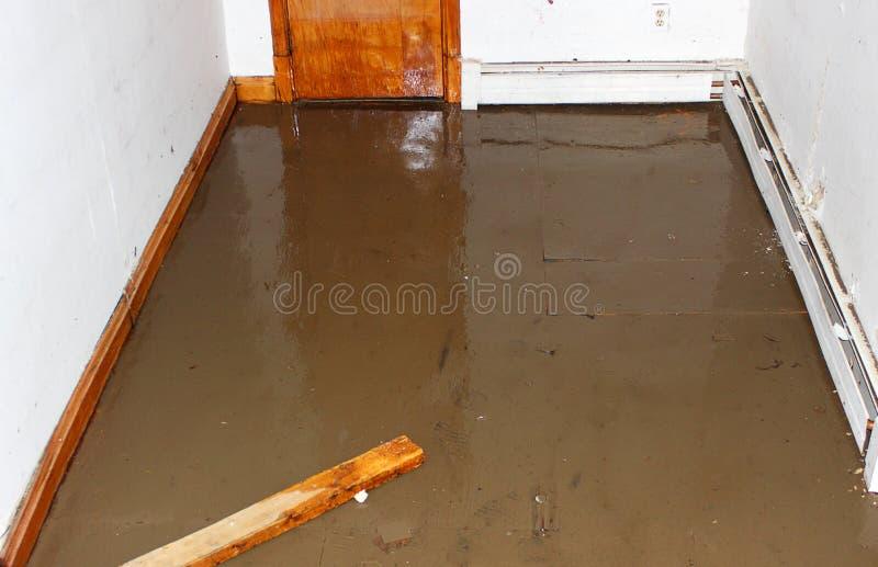 Πλημμυρισμένο υπόγειο στοκ φωτογραφίες με δικαίωμα ελεύθερης χρήσης