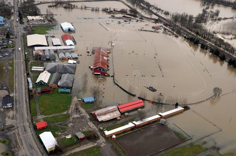 Πλημμύρα πολιτεία της Washington στοκ εικόνα με δικαίωμα ελεύθερης χρήσης