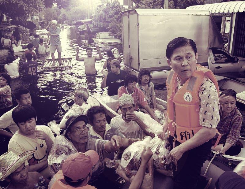 Πλημμύρα της Ταϊλάνδης 2010 στοκ φωτογραφία με δικαίωμα ελεύθερης χρήσης