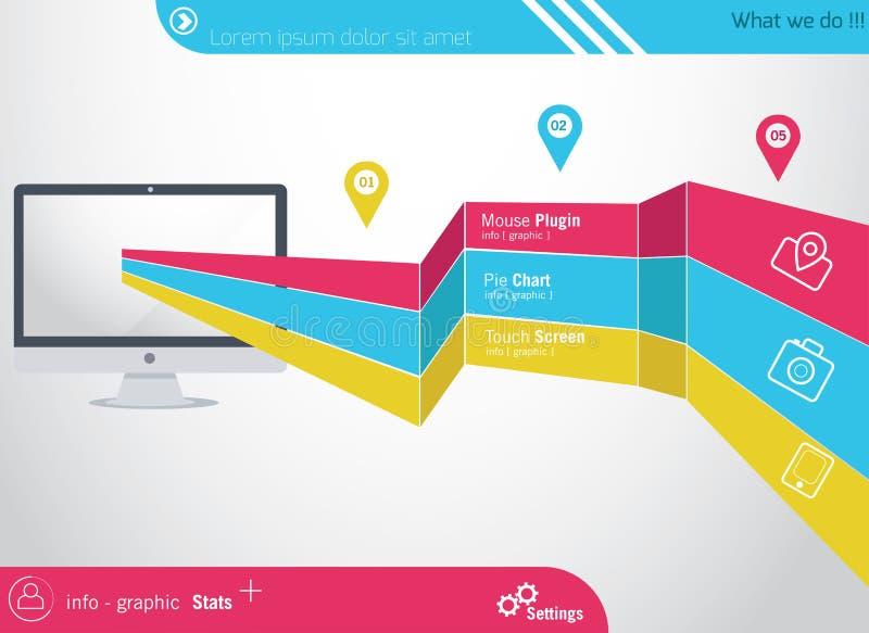 Πληροφορία-γραφικά στοιχεία απεικόνιση αποθεμάτων
