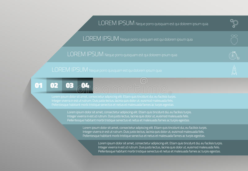 Πληροφορίες γραφικές διανυσματική απεικόνιση