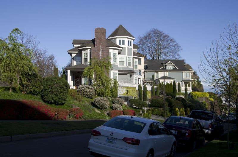 Πλούσια γειτονιά ανθρώπων στοκ φωτογραφία