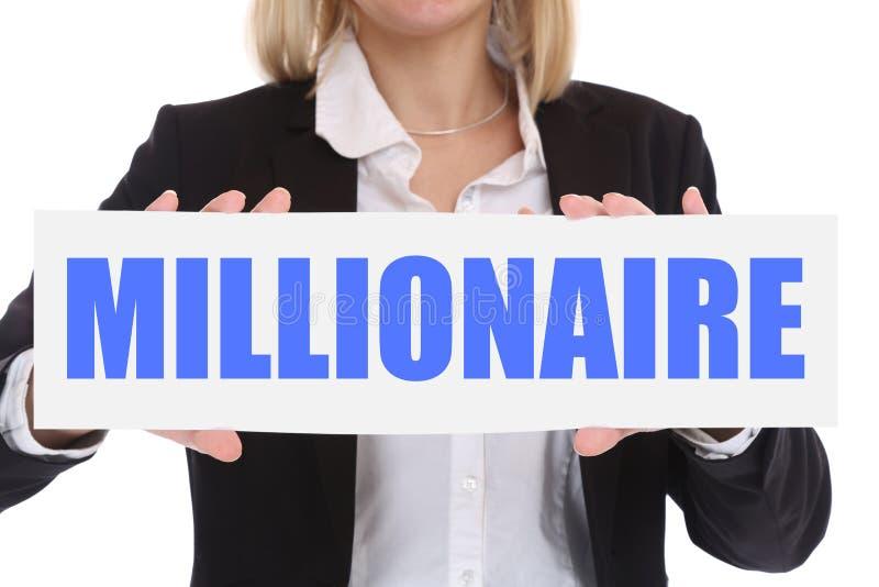 Πλούσια επιτυχία s επιχειρηματιών πλούτου εκατομμυριούχων επιχειρησιακής έννοιας στοκ φωτογραφία