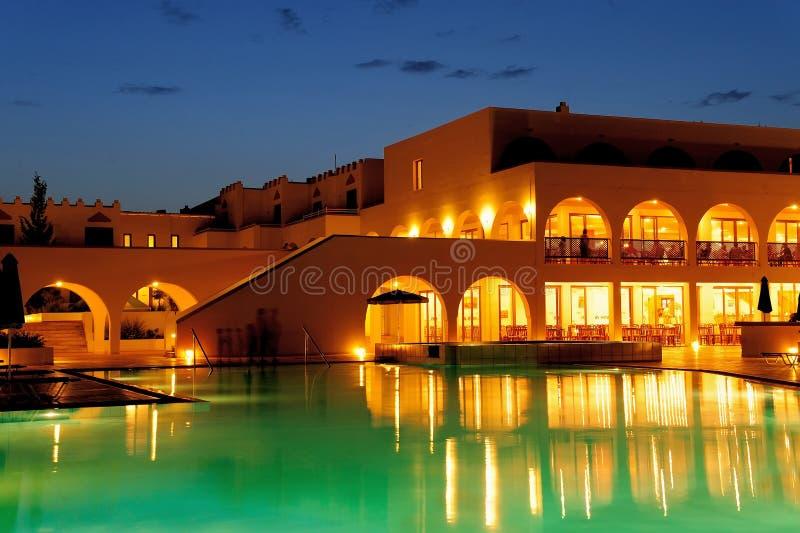 Πλούσιο ξενοδοχείο στοκ φωτογραφία