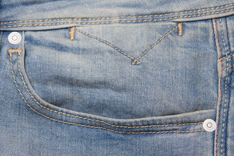 Πλυμένη φαντασία τσέπη τζιν παντελόνι στοκ εικόνες με δικαίωμα ελεύθερης χρήσης