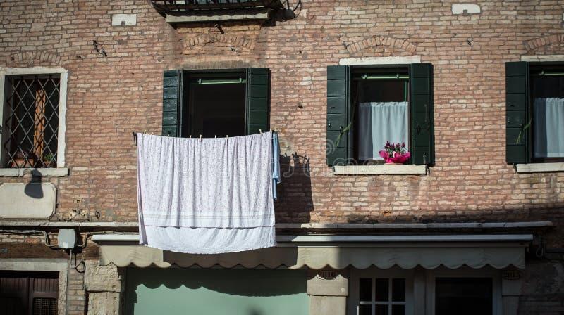 Πλυντήριο στη Βενετία στοκ φωτογραφίες με δικαίωμα ελεύθερης χρήσης