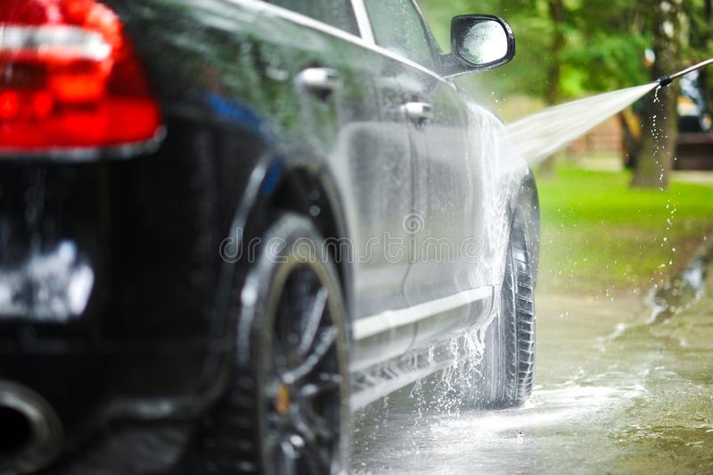 Πλύση αυτοκινήτων στοκ εικόνες με δικαίωμα ελεύθερης χρήσης