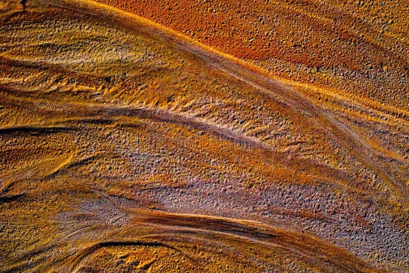 Ράβδωση νερού στην άμμο στοκ εικόνες με δικαίωμα ελεύθερης χρήσης