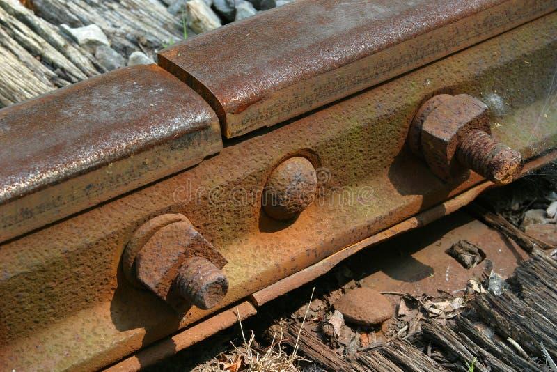 Download ράγα στοκ εικόνα. εικόνα από τραίνο, σιδηρόδρομος, σκουριασμένος - 57673