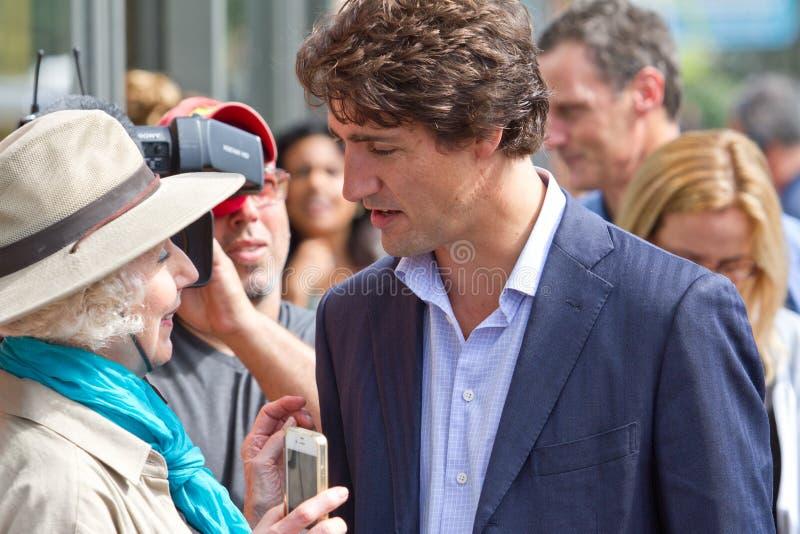 Ράγκμπι του Justin Trudeau στοκ φωτογραφία με δικαίωμα ελεύθερης χρήσης