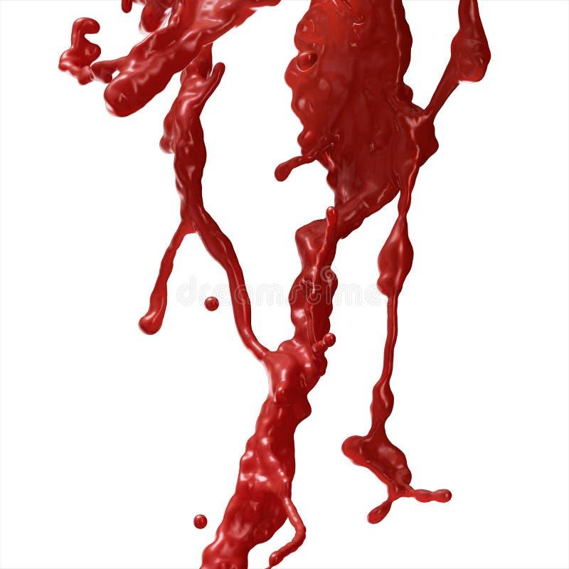 Ράντισμα αίματος στοκ εικόνα